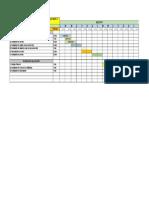 Cronograma Instalacion Polvorin MSLP
