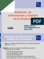 Sistemas de Información y Gestión de la Empresa