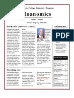 Roanomics, Vol 1, Issue 1