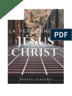 la personne de jesus christ