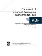 SFAS 133 Document from FASB