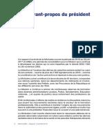rapport miviludes, mot du président_2017