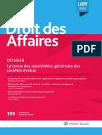 Revue Lamy Droit Des Affaires N 155 Janvier 2020