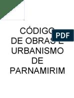 Código de Obras - Parnamirim