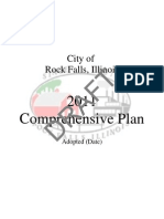 Draft of the Rock Falls Comprehensive Plan