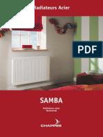 RADIATEUR PANNEAU CHAPPEE SAMBA