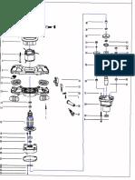 Amestecator mixer pm1200-parts list2171