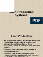 Lean Production Systems