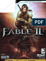Fable 2 BradyGames Scanned Guide
