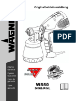 Wagner W 550 Paint Sprayer