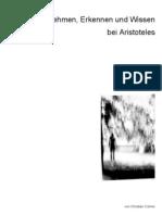 Wahrnemen_Erkennen_und_Wissen_bei_Aristoteles