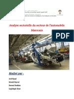 259321286 Analyse Secteur Automobil