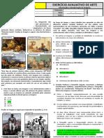 Avaliações de Artes Observação e Interpretação de Imagens.