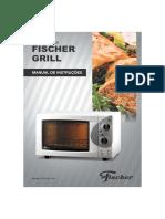 Manual de instruções Forno Fischer