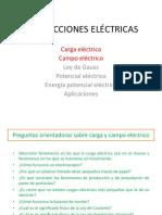 Clase Carga y Campo Eléctrico