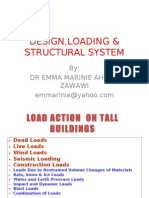 DESIGN,LOADING & STRUCTURAL SYSTEM