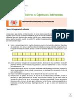 SITUACIÓN DE APRENDIZAJE 2_Los experimentos aleatorios y el cálculo de probabilidad clásica