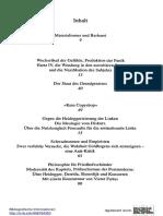 ISF - Das Konzept Materialismus, CA Ira 2009 - InHALT