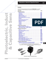 Photoelectric, Inductive & Capacitive Sensors
