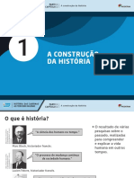 A construção da História
