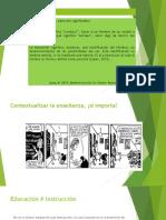 EDUCACIÓN y PEDAGOGÍA COMPARTIR