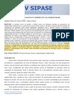 Artigo A FORMAÇÃO DOCENTE NA PERSPECTIVA DA SUBJETIVIDADE