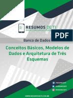Conceitos Basicos de Modelagem de dados