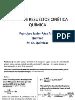 Ejercicios Resuletos Cinetica Química