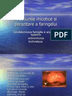 13. Afecţiunile micotice şi parazitare