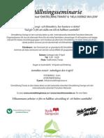 Omställningsseminarie (Tranås) Jan Forsmark 110409