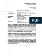 Resolución Indecopi sobre DOnofrio - Marzo 2011