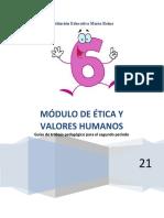 Guía No 1 etica periodo 2 6º