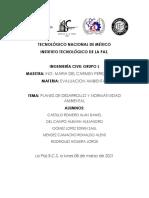 Plan de Desarrollo y Normatividad Ambiental