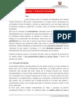 LECCIÓN 1 -- ESTADO Y NACIÓN PERUANA