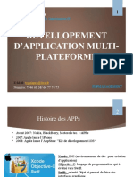 Developpement appMobillMultiPlate
