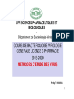 Methodes d'Etude Virus l3 2019 2020.Ppt [Mode de Compatibilité]