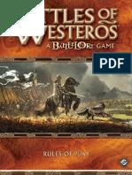 Battle of Westeros Rulebook