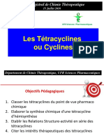 Cours Ttracyclines