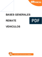 Bases generales vehiculos