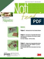 Primer Boletin Noti Food Marzo 2011