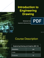 Lecture  Introduction to Engineering Drawing