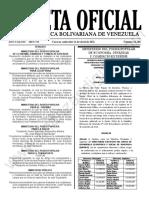 Gaceta Oficial N°42.106