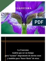 CUARESMA 09-03-11