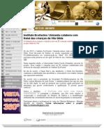 Instituto Ecofaxina / Unisanta colabora com Natal das crianças da Vila Gilda