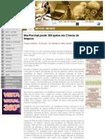 Ilha Porchat perde 380 quilos em 3 horas de limpeza