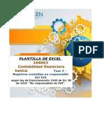 Plantilla Excel - Fase 2 - Registros Contables No Responsable Del IVA