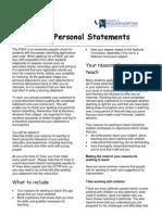 PersonalStatementsforPGCEApplications