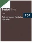 Apture Layers Scribd on Your Website, Scribd Blog, 4.15.08
