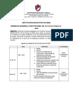 Semana de Desarrollo Institucional Octubre 20202
