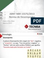 NBR 15.575 - Norma de Desempenho